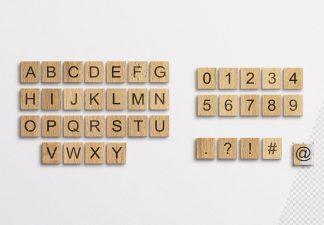 alphabet wooden tiles thumbnail