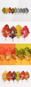autumn leaves mockup preview1 1 scaled