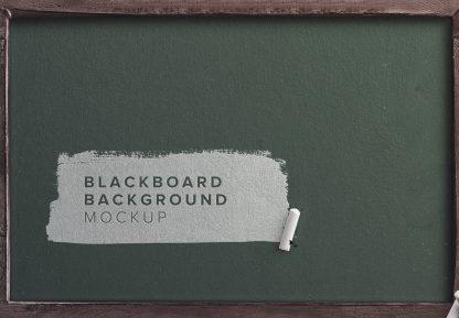blackboard background mockup thumbnail