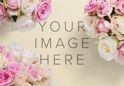 bouquet roses mockup image03