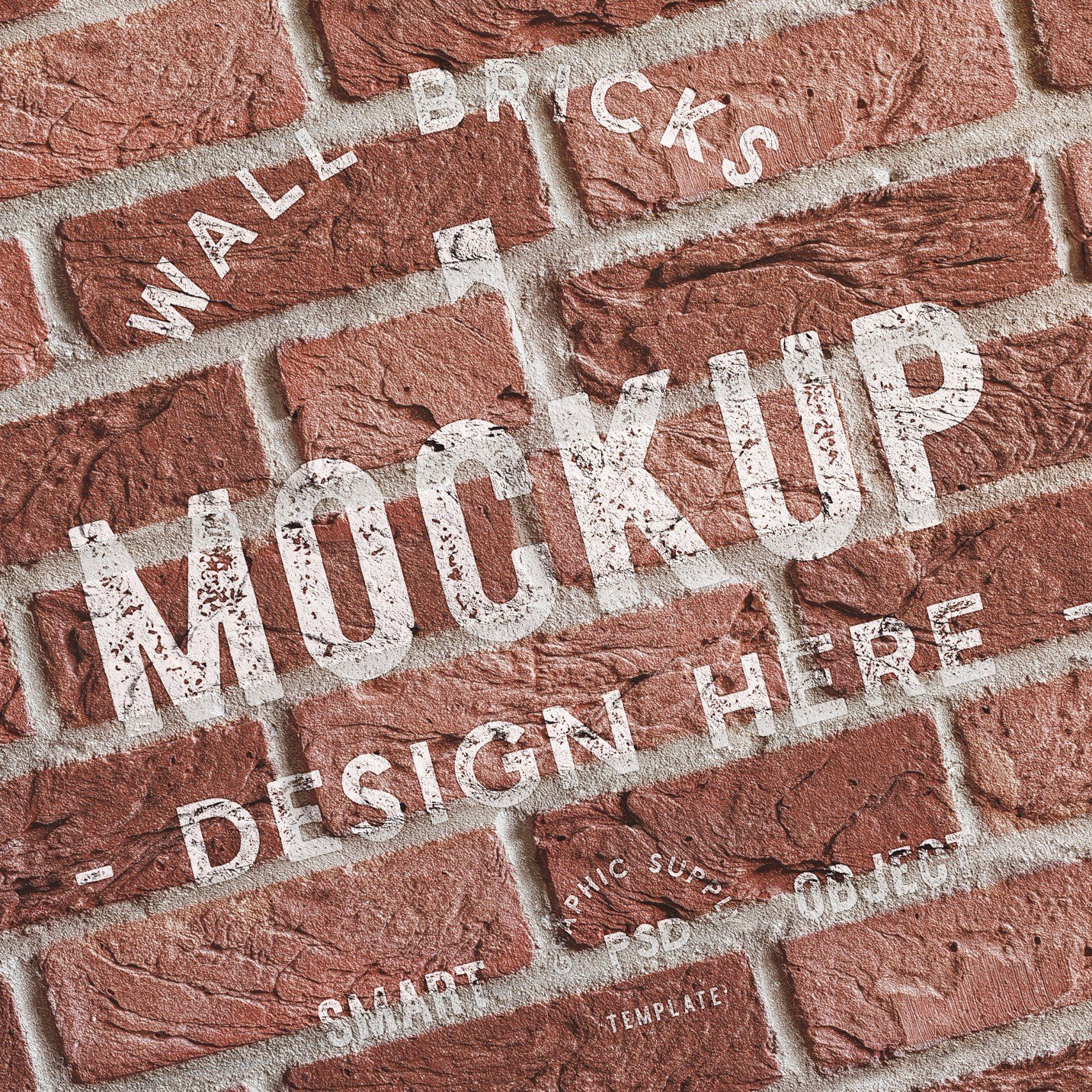 brick wall background mockup image03