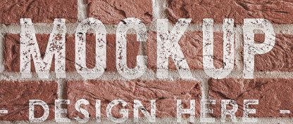 brick wall background mockup image04