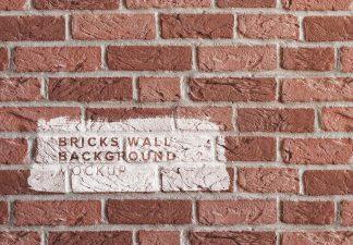 brick wall background mockup thumbnail