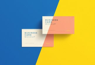 business card mockup thumbnail