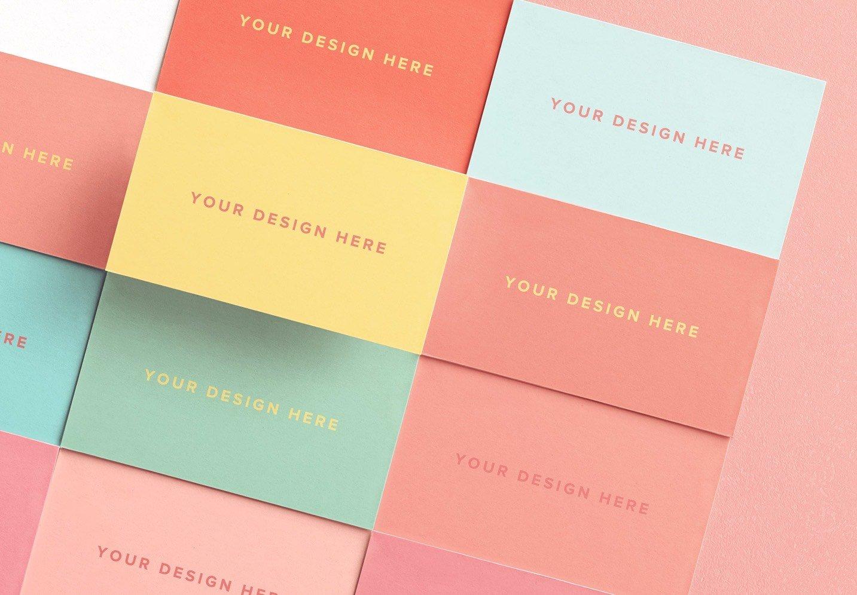 business cards layout mockup image03