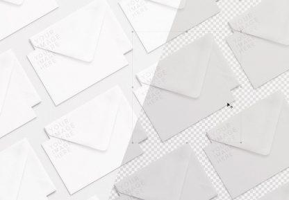 cards and envelope diagonal layout mockup 2 image01
