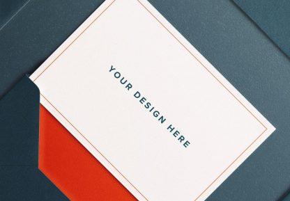 cards and envelope diagonal layout mockup image04