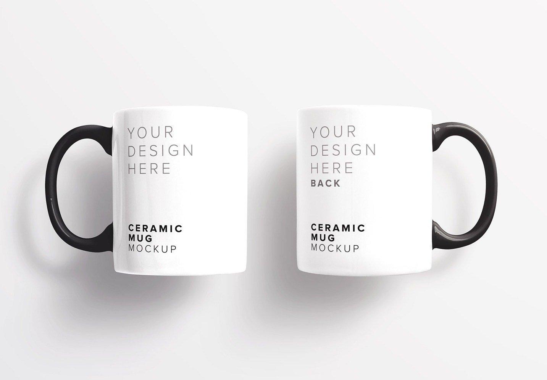 ceramic mugs mockup thumbnail