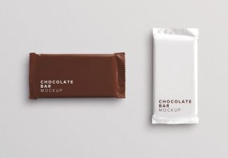 chocolate bar mockup thumbnail