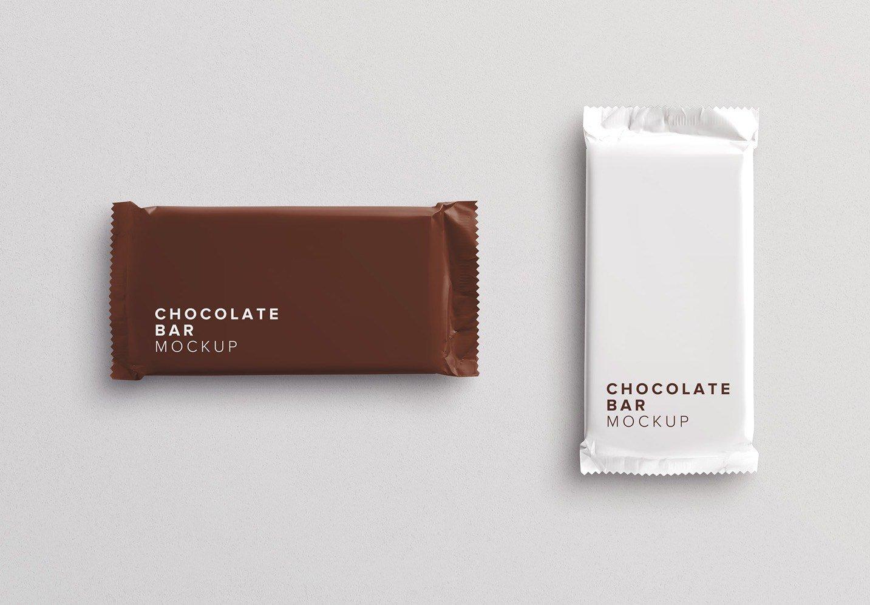 chocolate bar mockup thumbnail