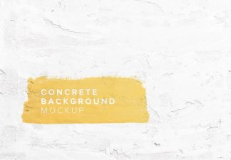 concrete wall background mockup thumbnail
