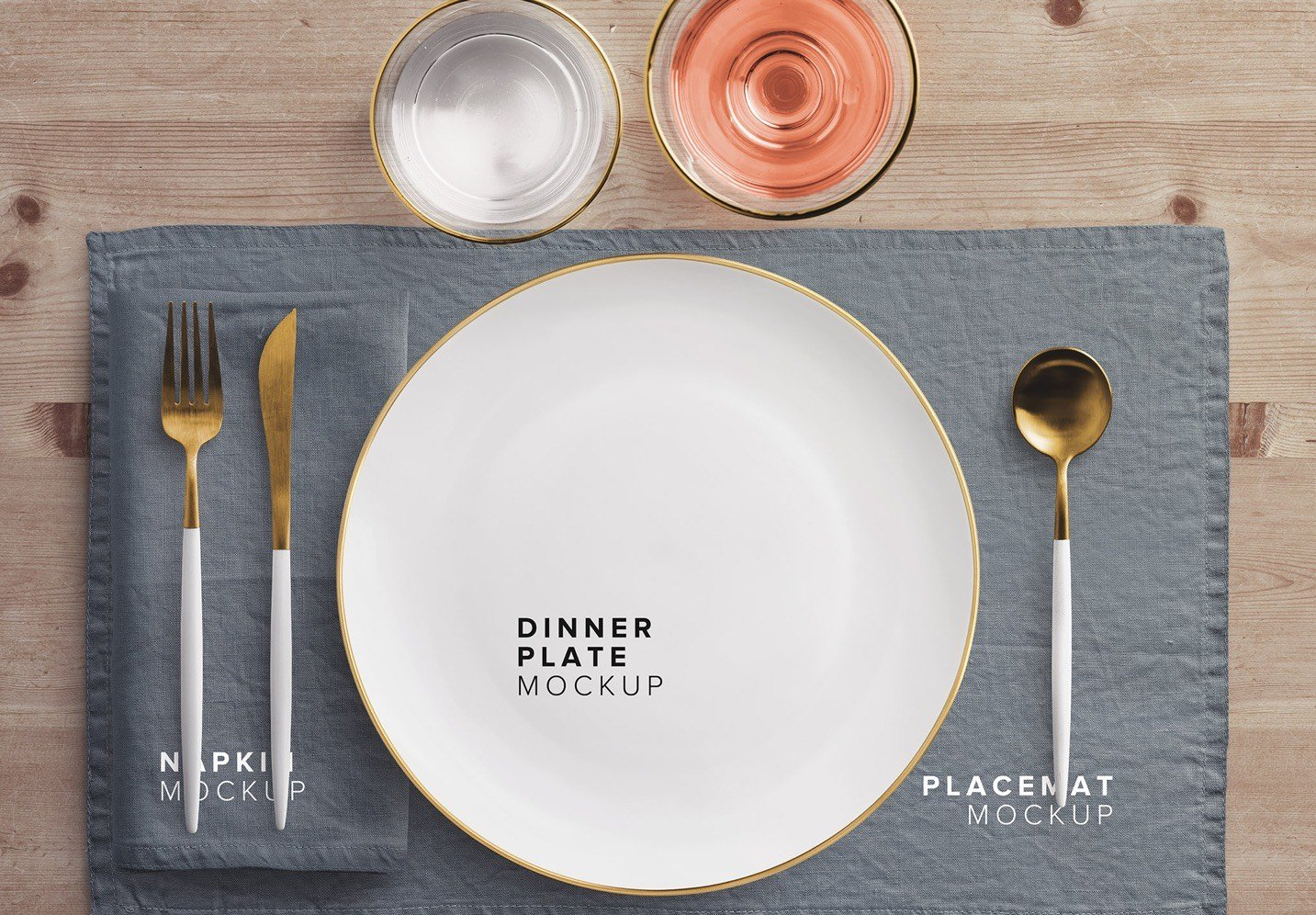 dinner table scene creator mockup thumbnail