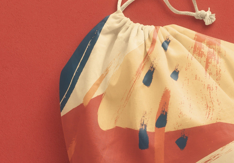 drawstring sack bag mockup image04