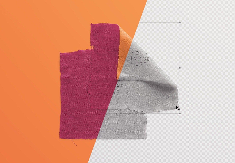 fabric linen mockup image01