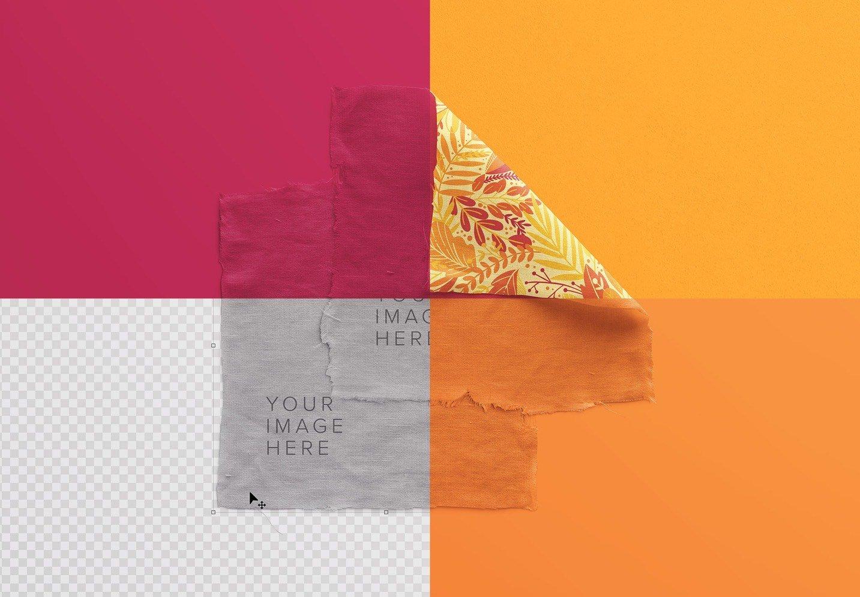 fabric linen mockup image02