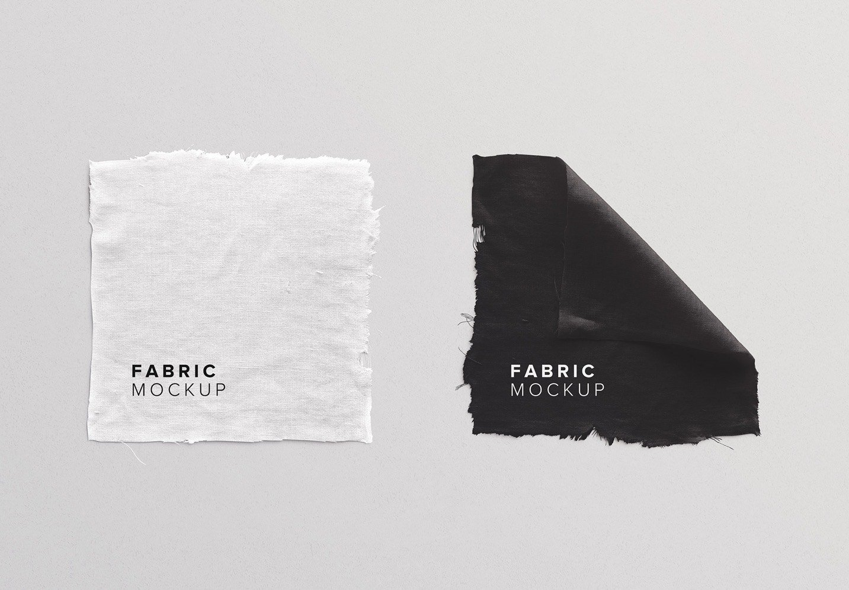 fabric linen mockup thumbnail