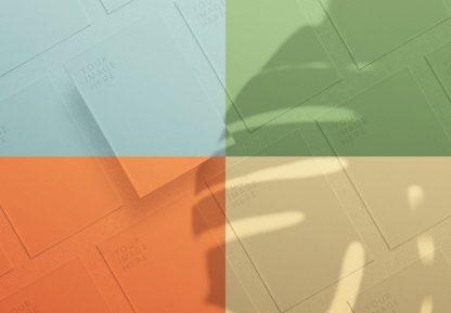 flyer diagonal layout mockup image02