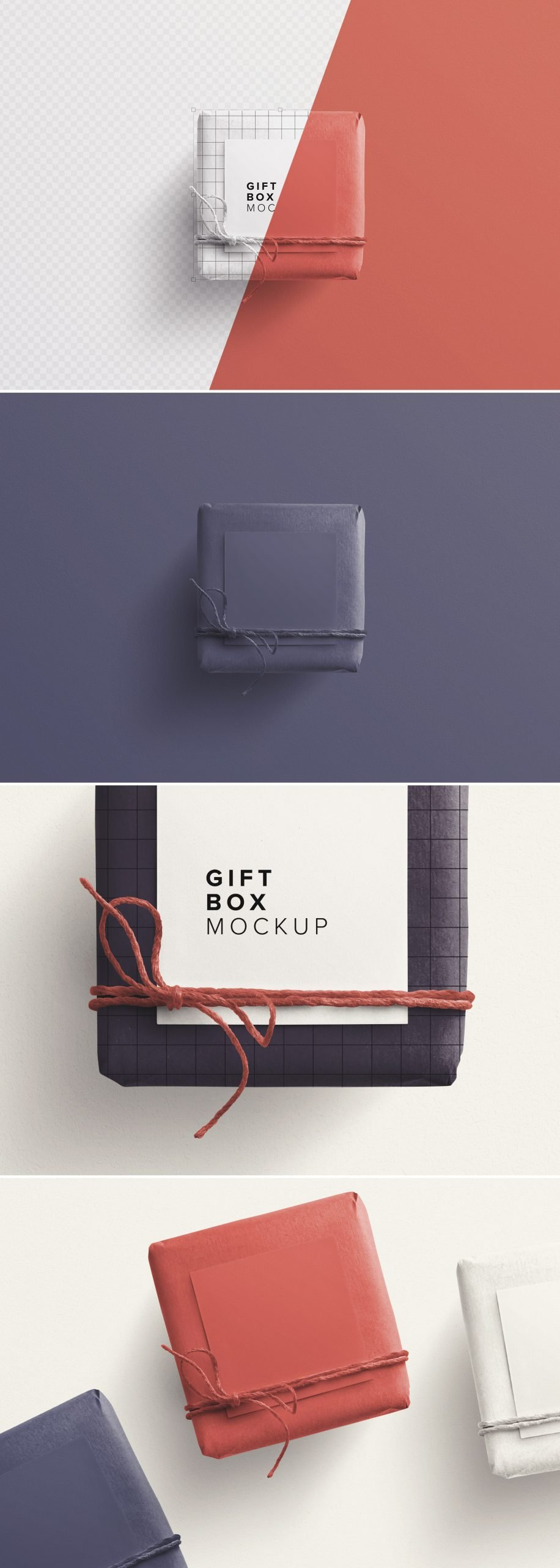 gift box mockup w twine n gift tag preview 1 scaled