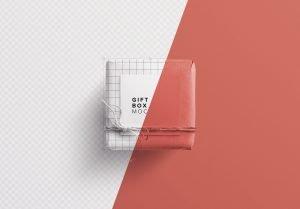 gift box w card mockup image01
