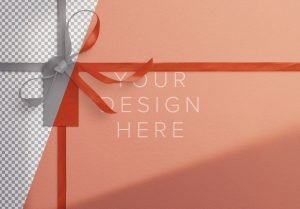 gift ribbons and bow background image01