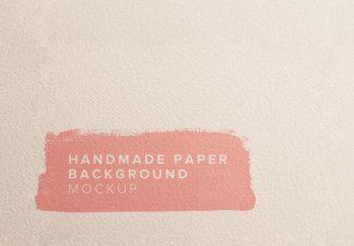 handmade paper background mockup thumbnail