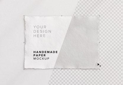 handmade paper mockup image01
