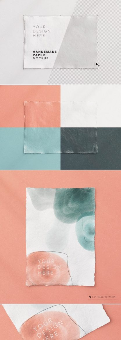 handmade paper mockup preview1 1 scaled