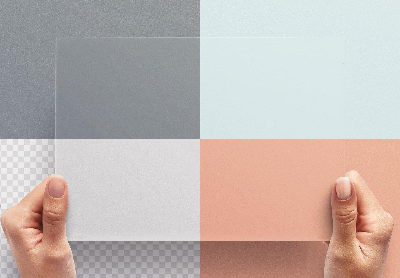 hands holding paper mockup image02
