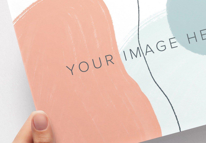 hands holding paper mockup image04