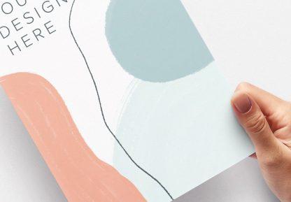 hands holding paper vertical mockup image04