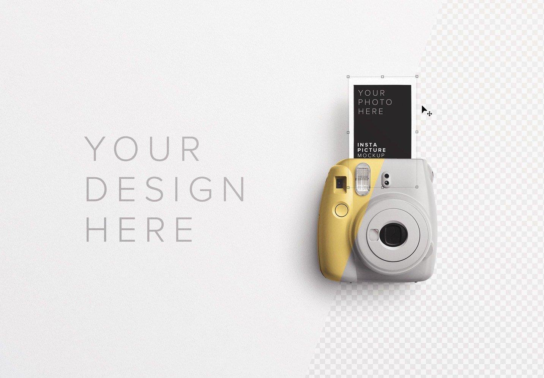 insta camera w picture image01