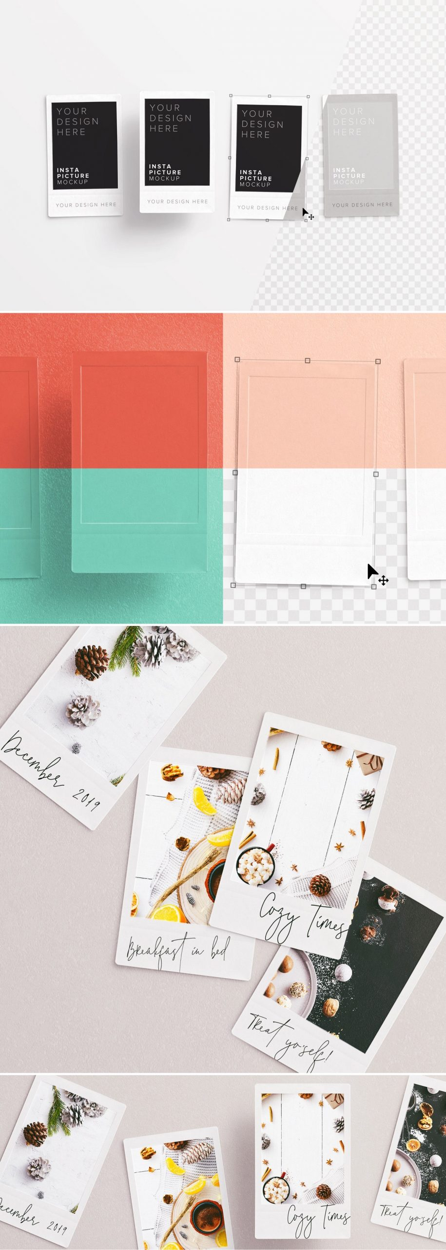 insta pictures frame mockup preview1 1 scaled