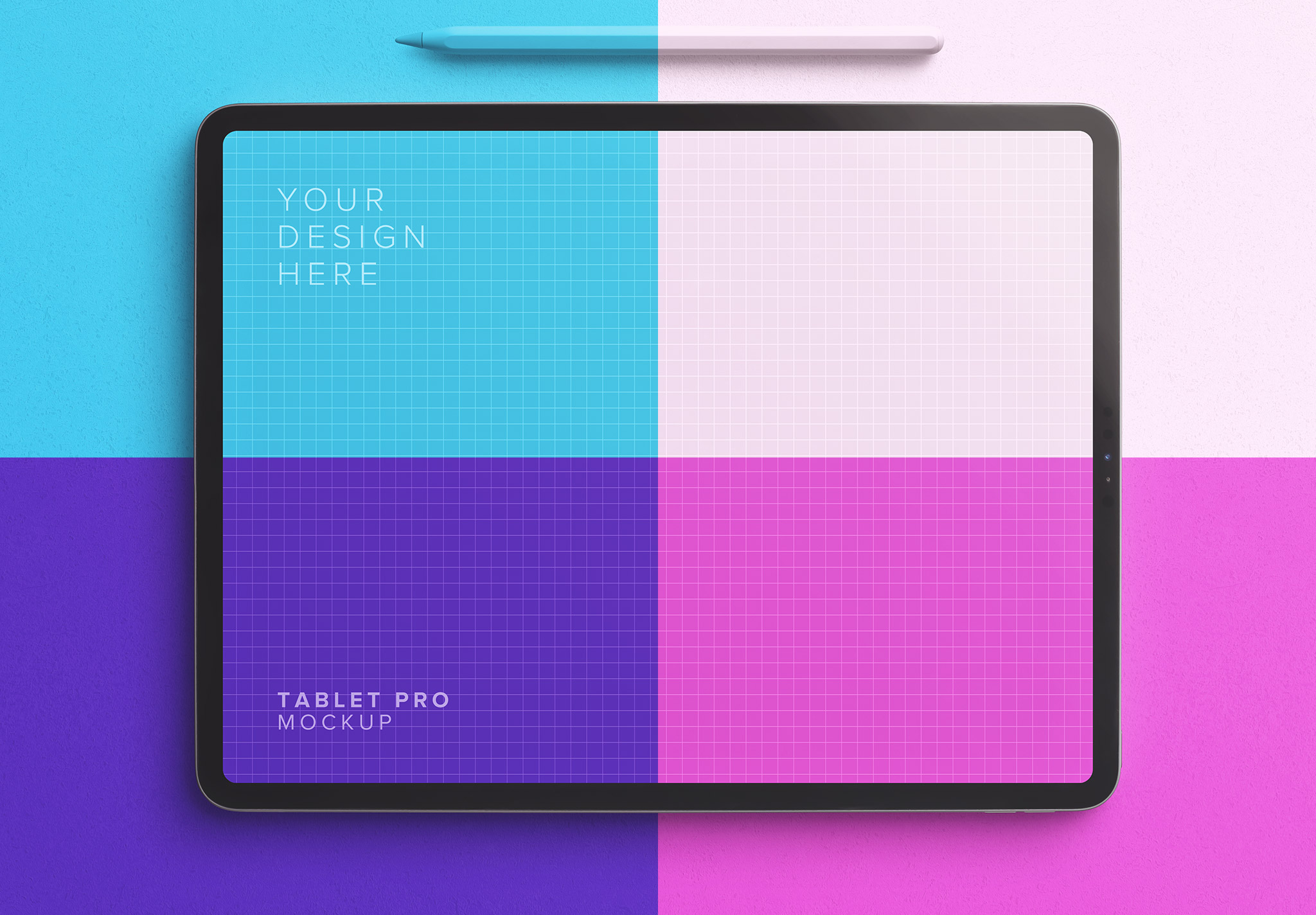 iPad Pro 12.9inch Mockup - Image 2