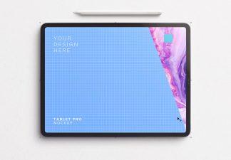 iPad Pro 12.9inch Mockup