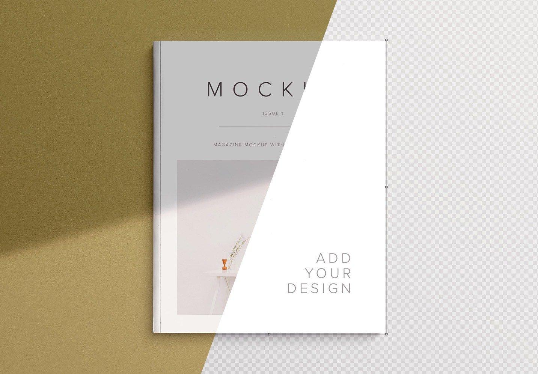 magazine cover mockup image01
