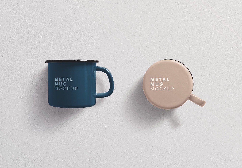 metal mug mockup thumbnail