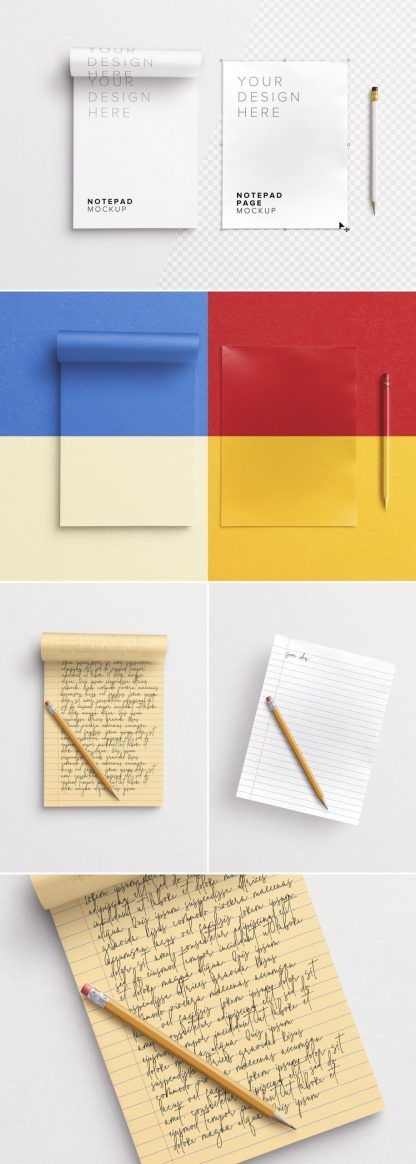 notepad w pencil mockup preview1 1 scaled