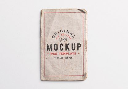 old notepad cover mockup image03