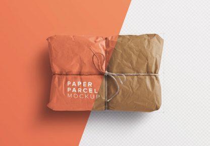 paper parcel mockup image01