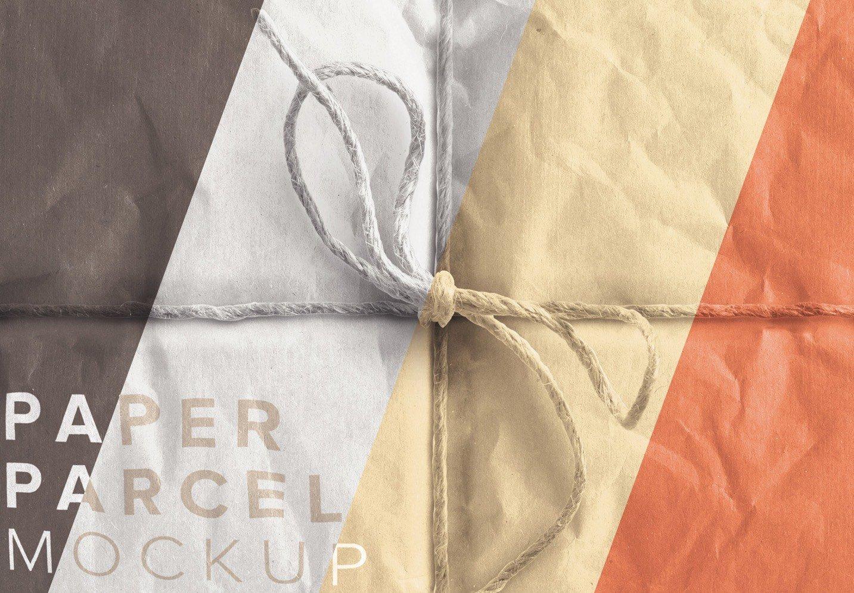 paper parcel mockup image02