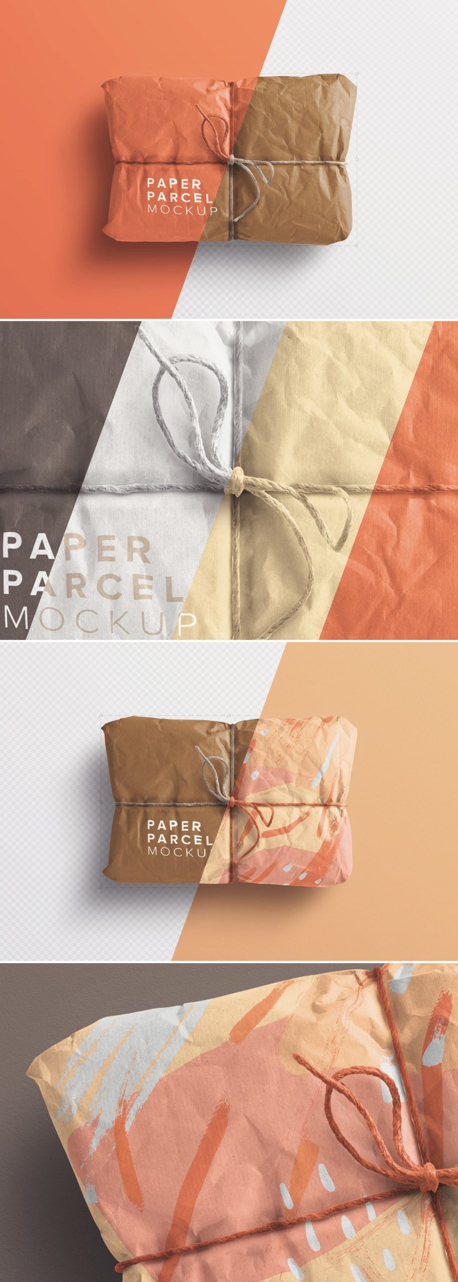 paper parcel mockup preview 1 scaled