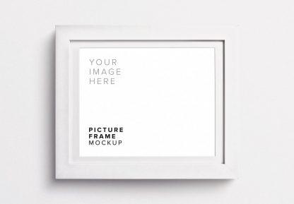 picture frame mockup thumbnail