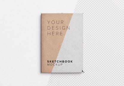 sketchbook cover mockup image01