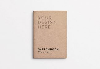 sketchbook cover mockup thumbnail 1