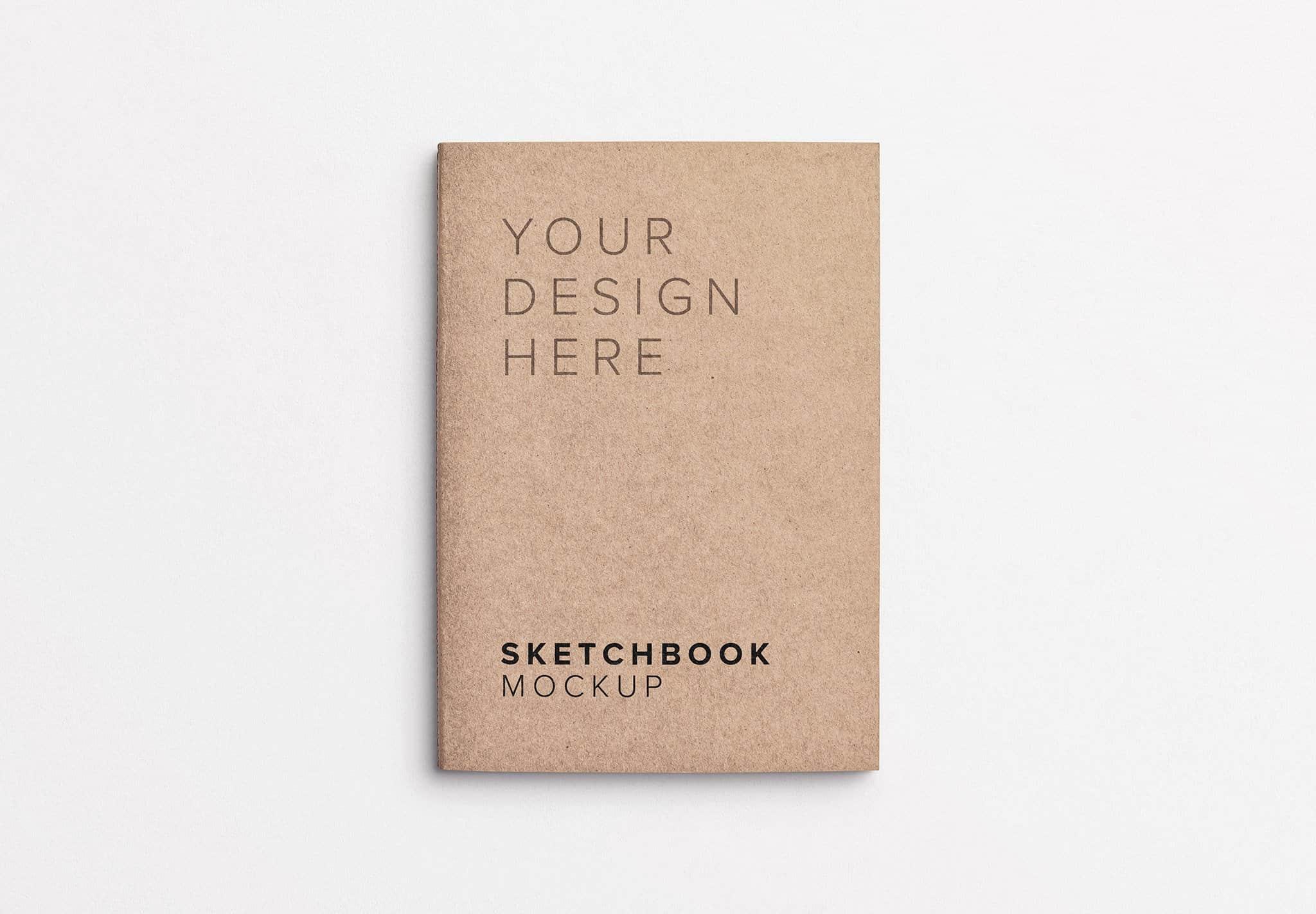 sketchbook cover mockup thumbnail 1