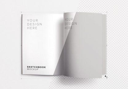 sketchbook right page mockup image01