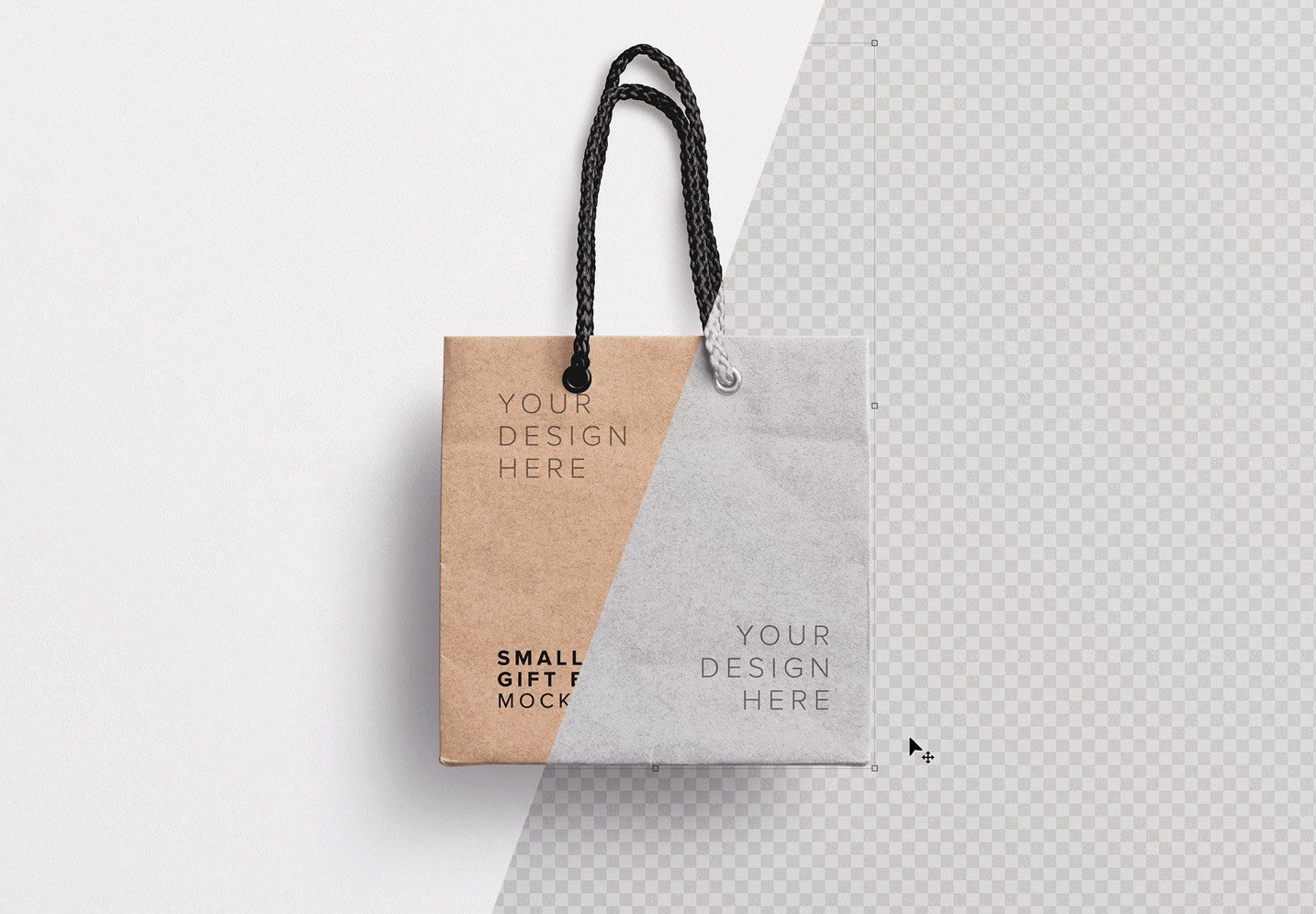 small gift bag mockup image01