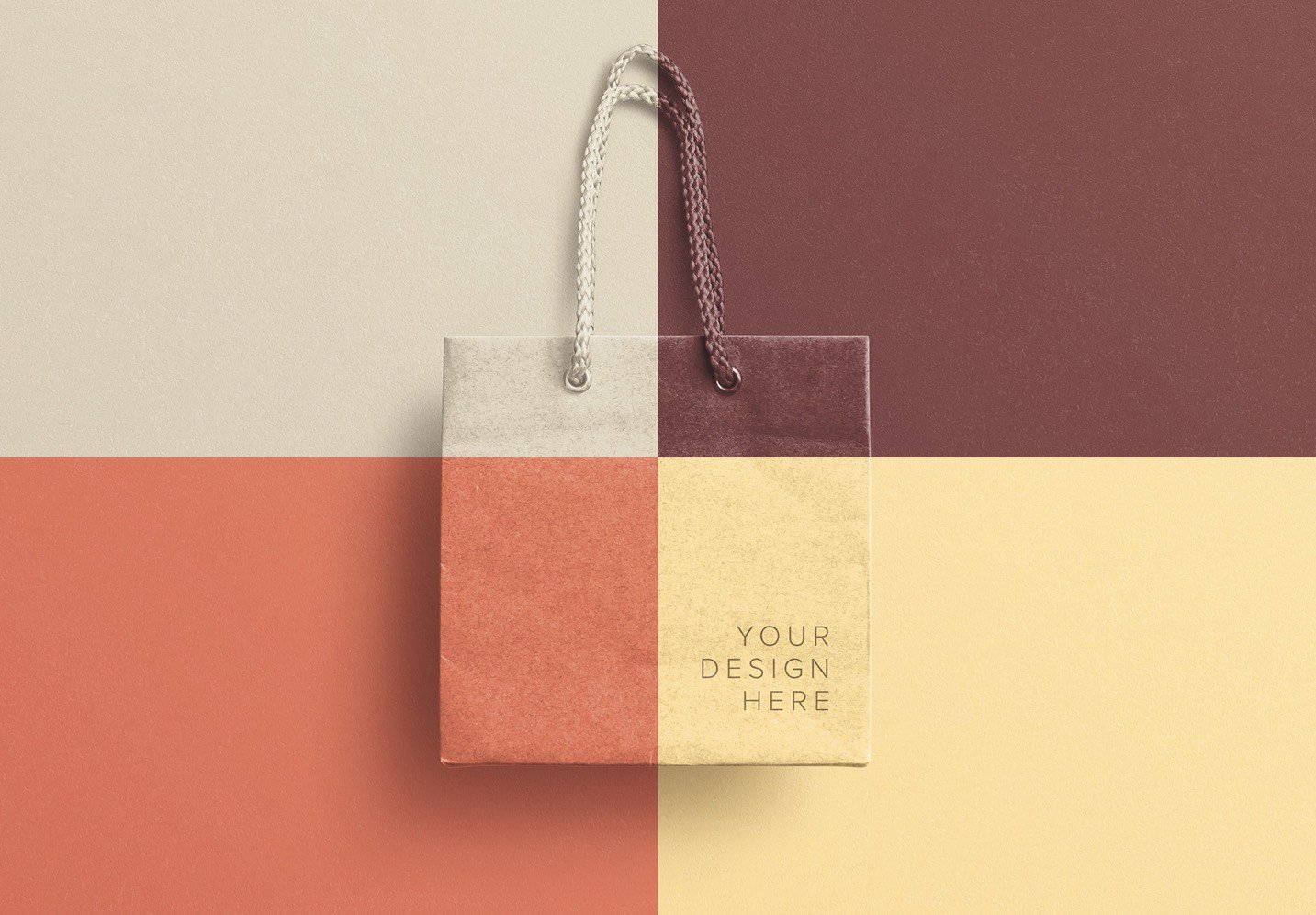 small gift bag mockup image02