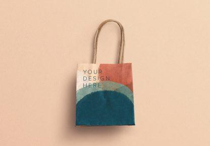small gift paper bag mockup image03