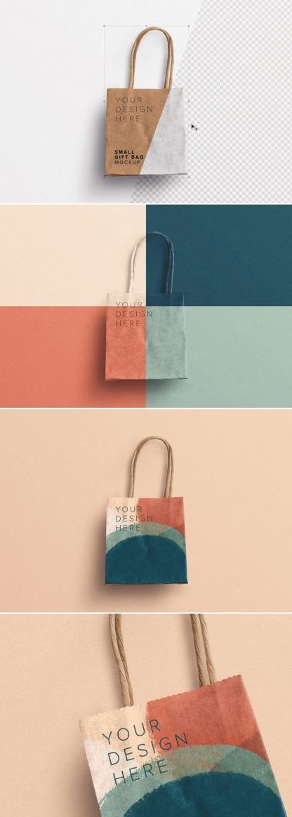 small gift paper bag mockup preview1 1 scaled